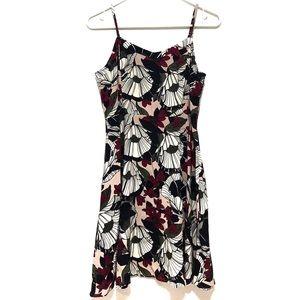 Loft Floral Dress Size S